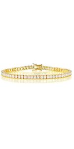 gold bracelet,tennis bracelet,bracelet for women,wedding bracelet,women bracelet,cz tennis bracelet