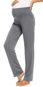 Maternity Wide Leg Lounge Pants