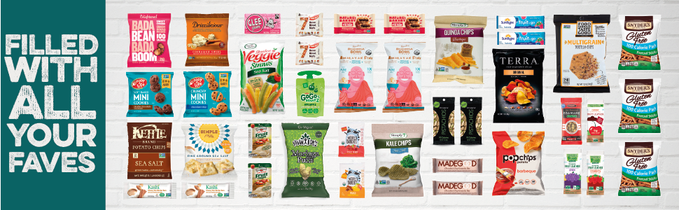 40 ct gluten free snack box