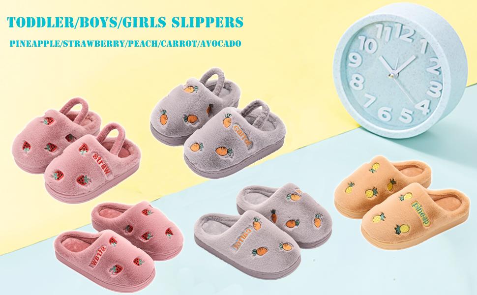 toddler girls slippers