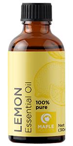 lemon essential oil maple holistics