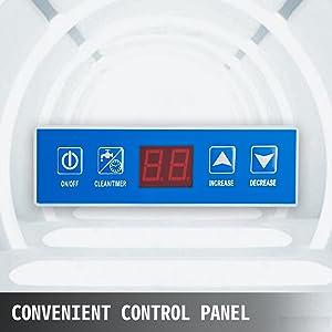 Machine à Glaçons Commerciale de sous le Comptoir 57 KG/ 24 H