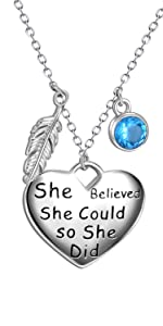 she Believe she did necklace