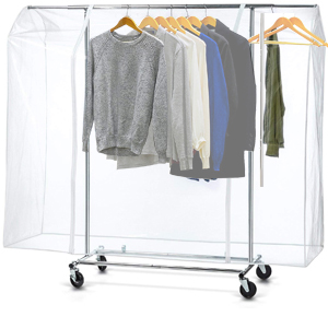 Ruibo Garment Rack Cover Clear