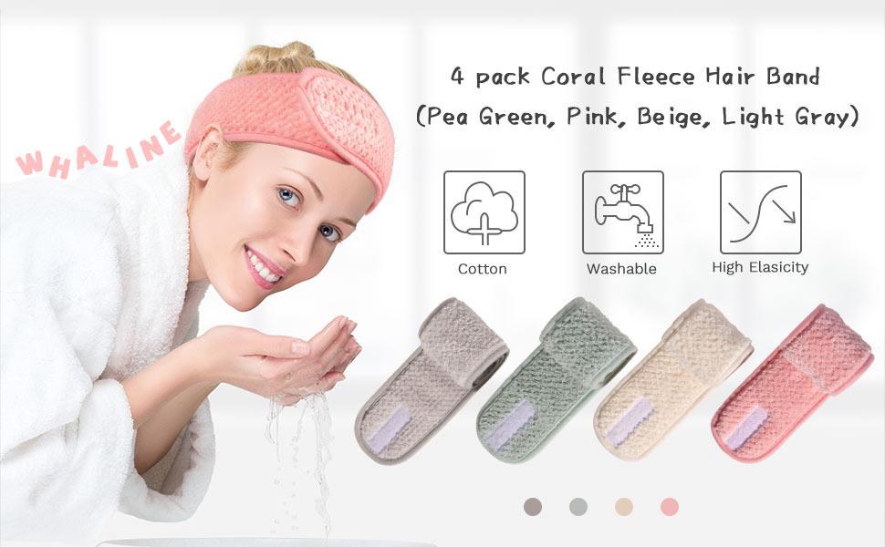 Pack Spa Facial Headband