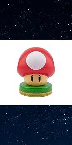Red Mushroom Icon Light