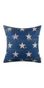 Linkwell American Flag Throw Pillow Cover