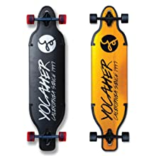 longboard longboards skateboards Drop Down through Aluminum Alloy gold black metal gifts