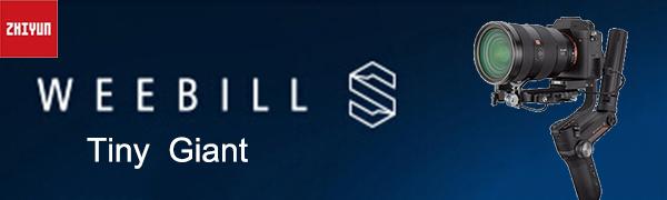 Zhiyun Weebill S 3-Axis Gimbal