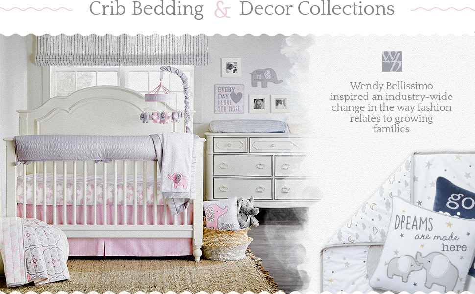 mobile sleep soother baby bedding crib bedding nursery bedding pink bedding gray bedding pillow