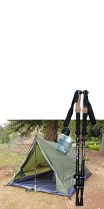 two man trekking pole tent, one man tent, ultralight tent, ultralight backpacking tent, hiking, camp