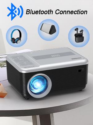 Bluetooth projector Native 720p