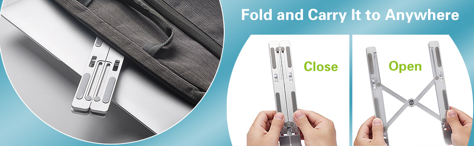 Foldable Portable Lap Stand