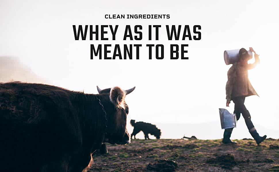 Quality Milk Tastes Better. Grass-fed Hormone-Free Dairy. Whey Protein Concentrate