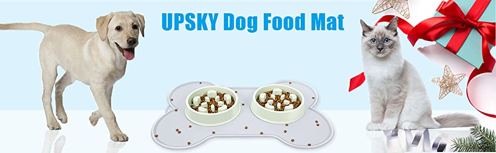 UPSKY DOG FOOD MAT