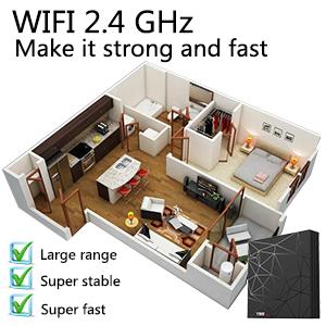 2.4G WIFI TV BOX