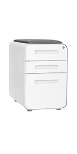 Stockpile Curve Seat File Cabinet