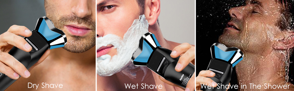 shave wet and dry