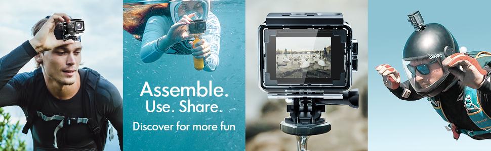 vlogging camera for youtube instagram sport camera