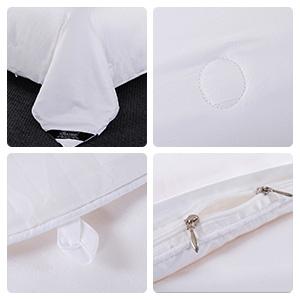 silk filled comforter