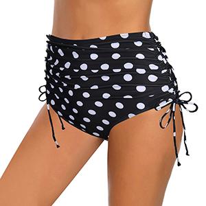 Vintage Bikini Bottom with Belt
