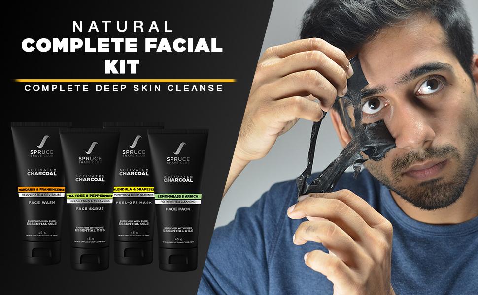 charcoal peel off mask, charcoal, facial kit, peel off mask, charcoal mask, charcoal kit, facial