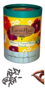 EarthPods Hibiscus Plumeria Bougainvillea Tropical Flower Organic Plant Food Fertilizer Spikes