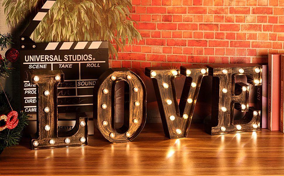 Letter Lights