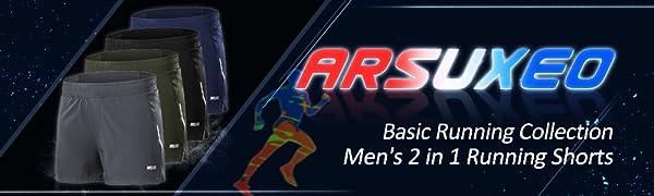 arsuxeo running shorts