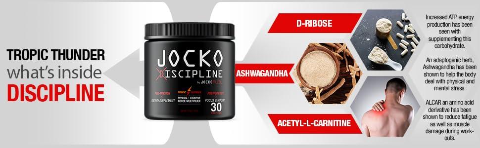 preworkout focus multiplier d-ribose acetyl-l-carnitine ashwagandha stamina endurance stress