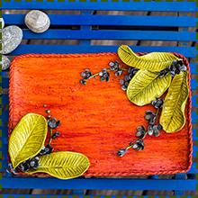 handmade Art Tray