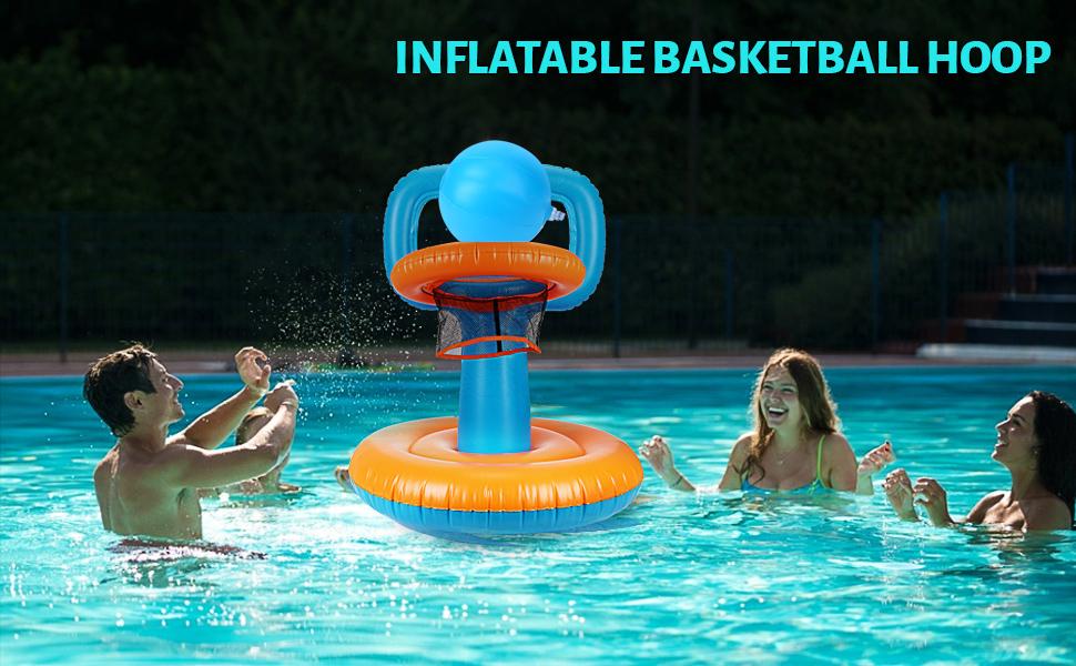 Ideal Pool Basketball Hoop