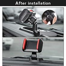 jeep phone holder