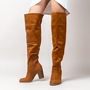 avalon, knee high boots, heeled boots, boots, shoes, jadams