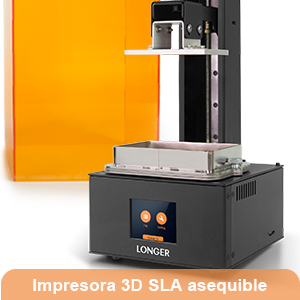 LONGER Orange 10 Impresora 3d,Impresora 3D de Resina SLA con ...