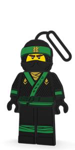 LEGO Ninjago Movie Lloyd Luggage Bag Tag