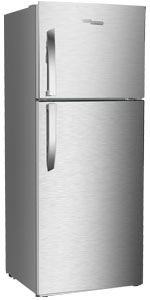 Super-General Top-Mount Fridge-Freezer Refrigerator Silver freestanding