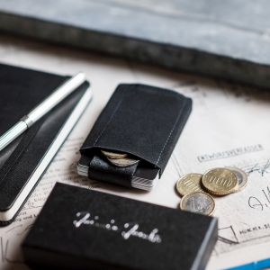 jaimie jacobs minimalistic wallet with coin pocket nano boy