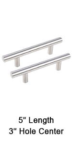 "3"" brushed nickel cabinet pulls kitchen cabinet pulls drawer dresser handles"