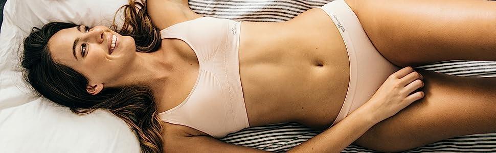 Boody body organic bamboo classic bikini brief underwear undies jockey full coverage womens girls