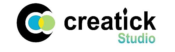 creatick studio wall sticker