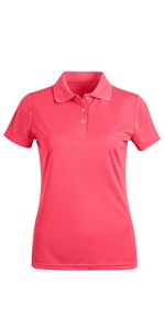 UPF 50+ Sun Protection Moisture Wicking Performance Golf Polo T Shirtsfor Women