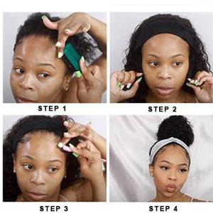 install hair wig