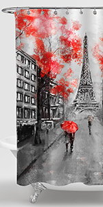 Paris Cityscape Shower Curtain