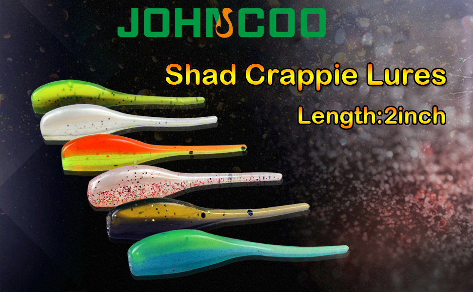 Details about  /10 Pcs 2 inch Fishing Lures Soft Baits Swimming Minnow Flapper Shad Softbaits