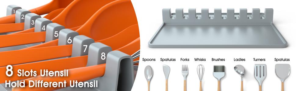 silicone utensil rest