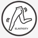 Comfortable elasticity