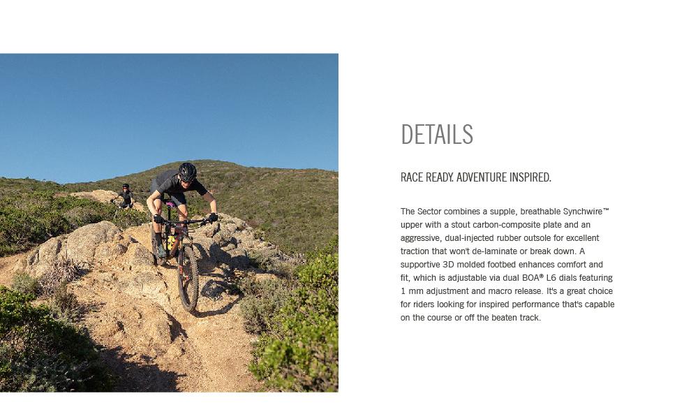 giro sector details bike mtb footwear