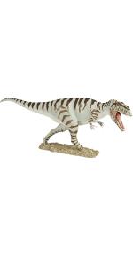 figure, toy, replica, carnivore, striped, dino, dinosaur, predator, prehistoric