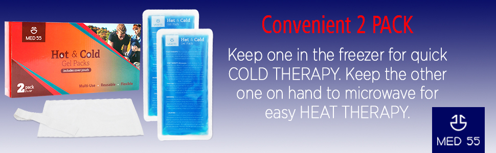 2 pack hot amp; cold therapy